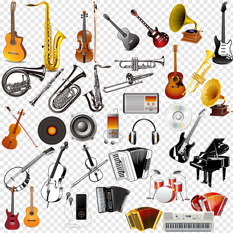popular musical instruments