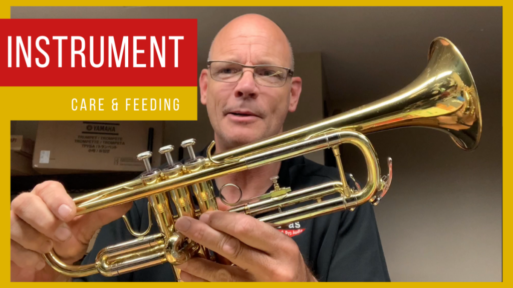 Brass Instrument Care and Maintenance